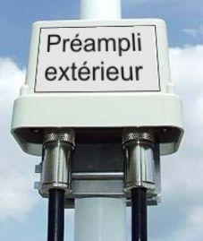 Pr amplificateur d 39 antenne fm for Antenne tv exterieur